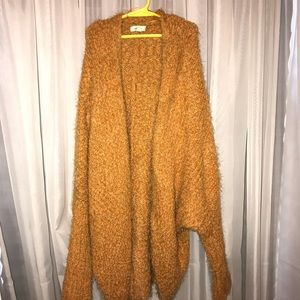 Gold Fuzzy sweater
